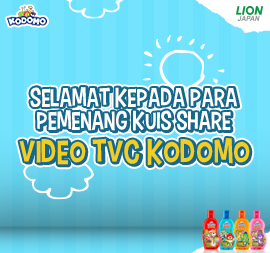 PEMENANG KUIS SHARE VIDEO TVC KODOMO