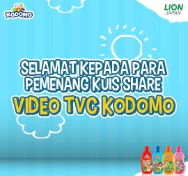 PEMENANG KUIS SHARE VIDEO TVC KODOMO