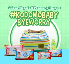 Daftar Pemenang #KODOMOBabyByeWorry Giveaway