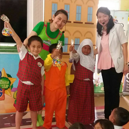 Kodomo Goes To School sedang berada di kota Cirebon