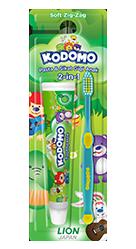 Kodomo Toothbrush 2in1 Zig Zag