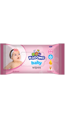 Kodomo Baby Wipes Rice Milk Pink