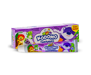 Kodomo Regular Toothpaste Grape
