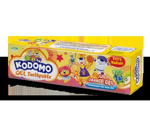 Kodomo Regular Toothpaste Juicy Orange Gel