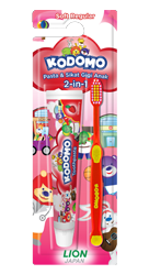 Kodomo Toothbrush 2in1 Regular