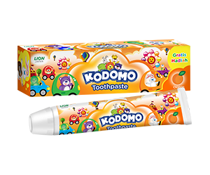 Kodomo Toothpaste Regular Orange