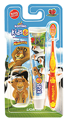 Kodomo Toothbrush Kids 6+ 2in1 Strawberry Mint
