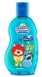 Kodomo Bodywash with Bubble Stick Blueberry
