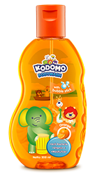Kodomo Bodywash with Bubble Stick Orange