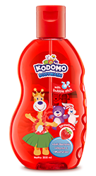 Kodomo Bodywash with Bubble Stick Strawberry