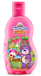 Kodomo Shampoo & Conditioner Cherry