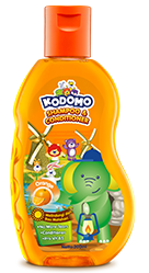 Kodomo Shampoo & Conditioner Orange