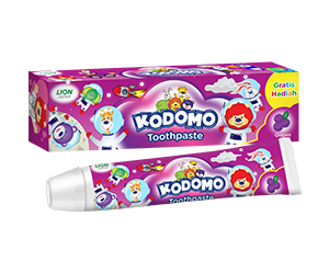 Kodomo Regular Toothpaste grape