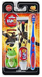 Kodomo Toothbrush Kids 6+ 2in1 Orange Mint
