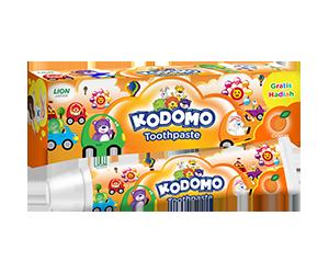 Kodomo Regular Toothpaste Orange